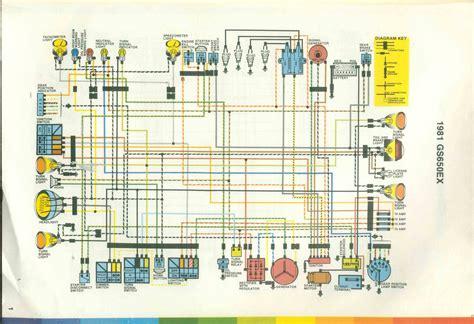 1982 suzuki gs 650 gl wiring diagram get free image
