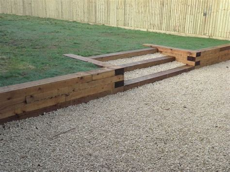 Wood Garden Wall Wood Retaining Wall Home The Great Outdoors