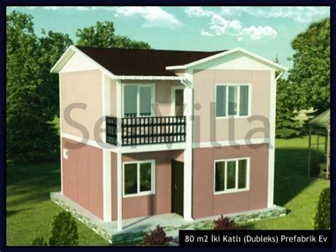 dubleks celik evler dubleks celik villa dubleks celik konut servilla iki katli dubleks prefabrik evler villa