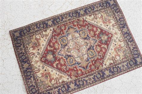 miniature rugs miniature dollhouse rug or edwardian era by greengypsies