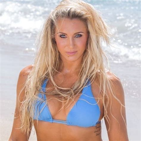 charlotte in a bikini on the beach for a photoshoot #