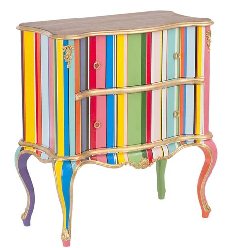 Striped Dresser by Striped Painted Furniture