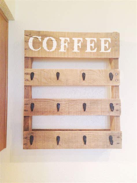 diy mug holder diy pallet coffee cup holder coffee cup holder cup