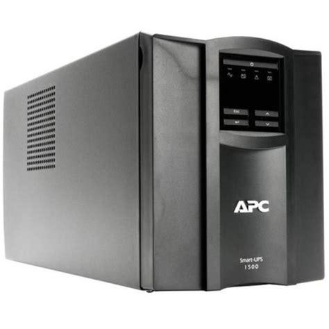 Baterai Ups Apc 1000 apc smart ups 1000 watts 1500 va input 230v output 230v interface port smartslot usb ebuyer