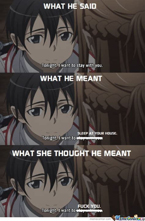 Sword Art Online Memes - sword art online memes best collection of funny sword art online pictures