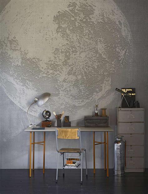 behang tienerkamer fotobehang maan in tienerkamer photo wallpaper moon in