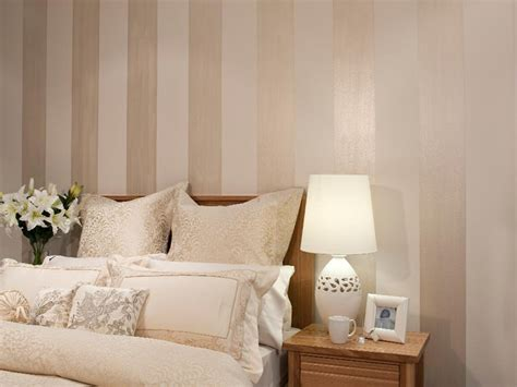 bedroom feature wall pearl stripes inspirations paint