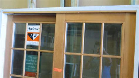 Andersen 4 Panel Sliding Glass Door Andersen 4 Panel Sliding Glass Door Andersen 4 Panel Door With Satin Nickel Hardware Windows