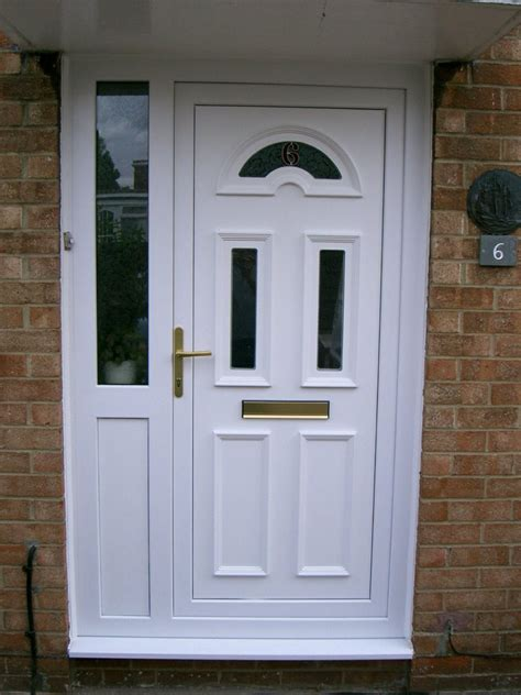 Exterior Doors With Side Panels Exterior Marvelous Front Doors With Unique Design For Your Homes Teamne Interior