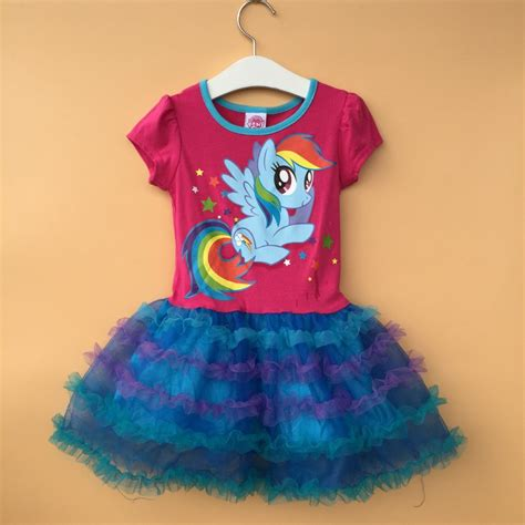 Dress Gw Pony Shanghai Kid Small my pony dress sleeve dress princess dress rainbow dress size 4 5 6 6x 6pcs