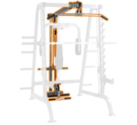 half cage lat for smith system hudson steel