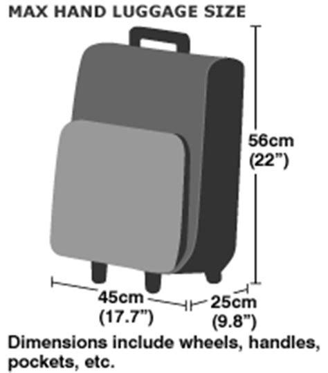 cabin baggage dimensions the essential carry on luggage restrictions in the airports