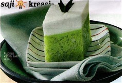 membuat puding tape ketan hijau 17 best images about asian small bite on pinterest