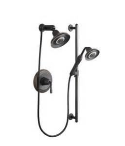 kohler k 10825 4 single handle shower system with multi