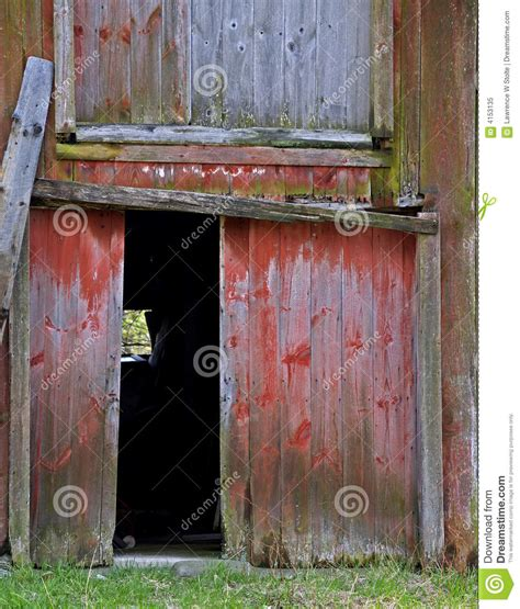 libro open the barn door open barn door royalty free stock photo image 4153135