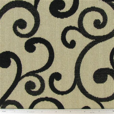 hobby lobby home decor fabric black beige stella scroll home decor fabric hobby lobby 219378