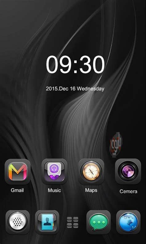 go launcher themes black تم مشکی گولانچر برای اندروید 1 0 39 dark go launcher theme