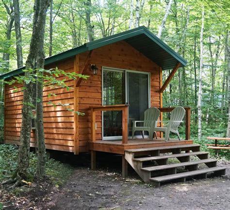 Wisconsin Door County Cabins by Washington Island Cground Located In Beautiful Door