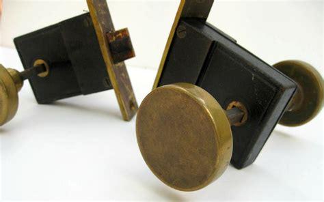 Vintage Brass Door Knobs With Hardware Midcentury Modern Antique Interior Door Hardware
