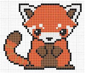 panda pixel template panda pattern by zaraphena favorite animal always