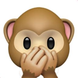 speak no evil monkey emoji (u+1f64a)