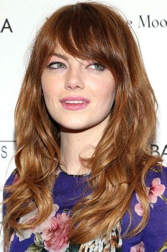bohemian blowout hairstyles get the look emma stone s bohemian blowout beauty blitz