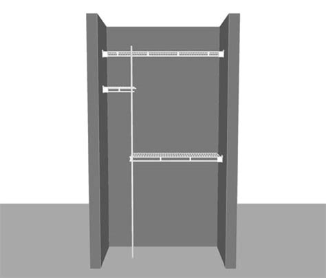 closetmaid wardrobe interiors shelves components