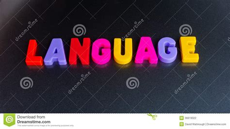 colorful language colorful language stock photography image 36619322