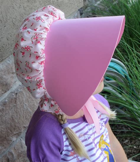 How To Make A Bonnet Out Of Paper - pioneer living in lilliput