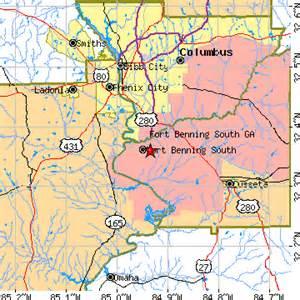 fort benning south ga population data races