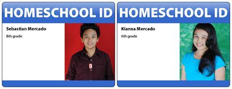 printable homeschool id cards homeschool id cards