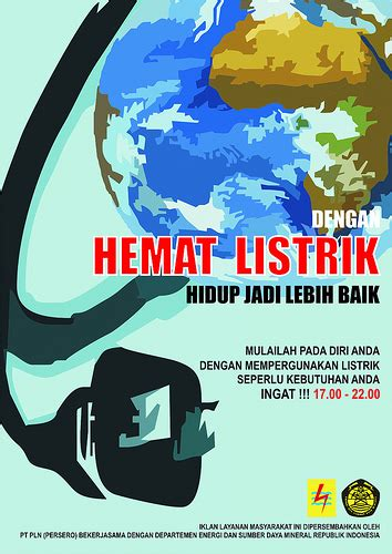 membuat contoh poster poster hemat energi flickr photo sharing