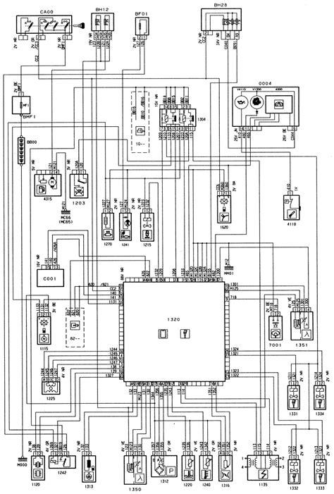 PEUGEOT 306 - ENGINE TYPE: TU3JP/I.F/L4 - INJECTION