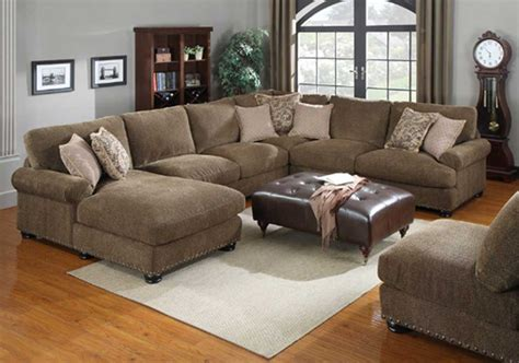 Chenille And Leather Sectional Sofa by 15 Chenille And Leather Sectional Sofa Sofa Ideas