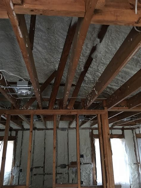 Wall And Ceiling Insulation by Insulation On Ceiling And Wall Hauszwei Homes