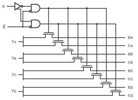 analog multiplexer integrated circuit high speed cmos quickswitch 2 1 mux demux idt