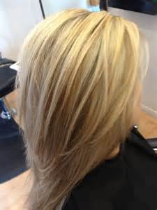 platimum hair with blond lolights platinum blonde with brown and copper highlights dark