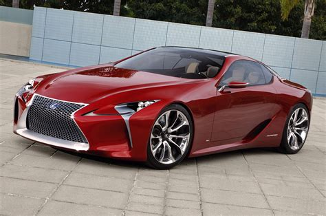 lexus lf lc price lexus lf lc super coupe concept pondered for production