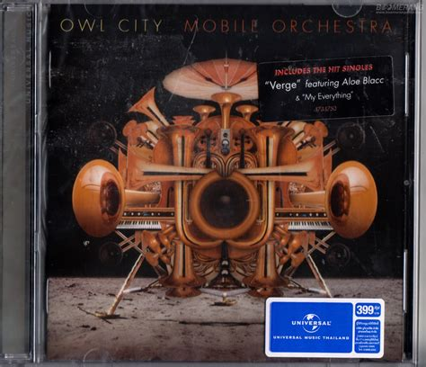 Cd Owl City Mobile Orchestra owl city mobile orchestra boomerangshop thailand dvd cd store