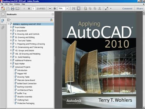 tutorial autocad download gratis applying autocad 2010 pdf ebook file software software