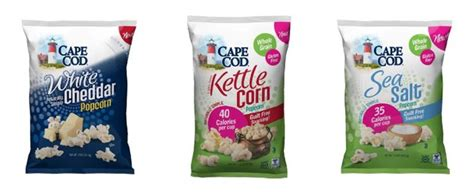 cape cod popcorn discontinued cape cod adds flavors to better for you popcorn line