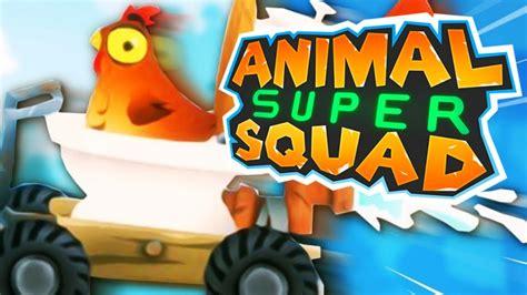 poludjela kokos  wc  animal super squad youtube