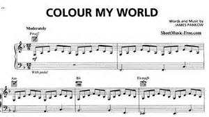 what color is my world color my world song