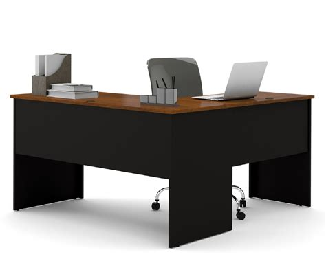 Desks L Shape Bestar Somerville L Shaped Desk