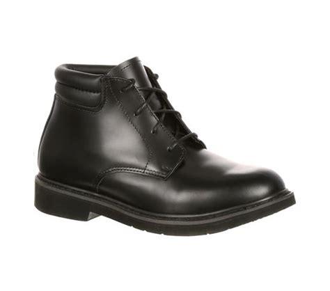 501 8 rocky boots mens black polishable dress leather