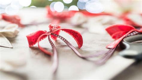 lazos navide 241 os para decorar el 225 rbol de navidad color rojo