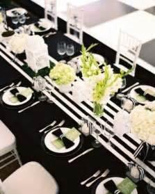 black and white table setting 52 elegant black and white wedding table settings