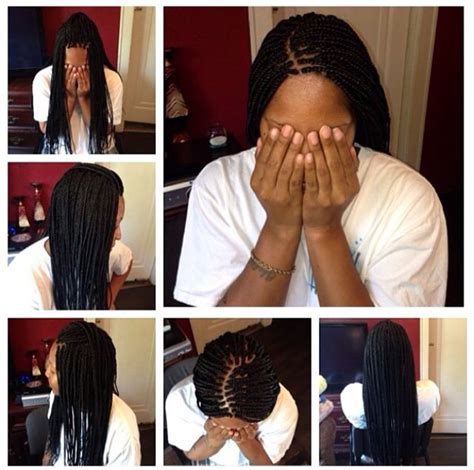 what to do with box braid ends small box braids w dipped ends small size box braids by