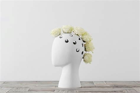 How To Pronounce Vase by This Wig Vase Is Possibly The Coolest Vase