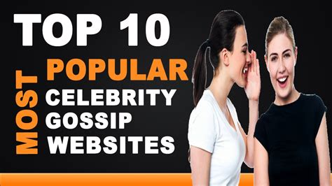 celebrity websites list best celebrity gossip websites top 10 list youtube